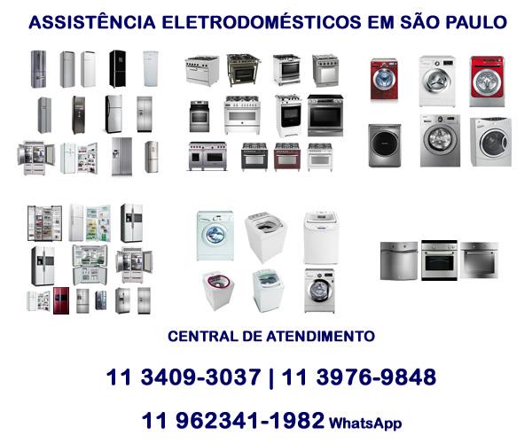 Assistência eletrodomésticos em São Paulo