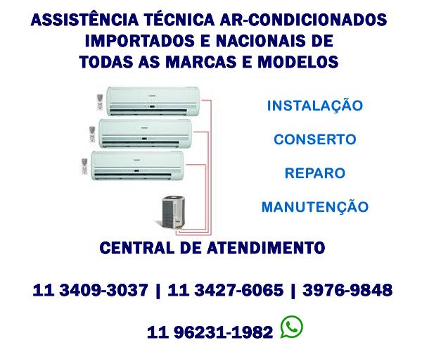Assistência Técnica Ar-condicionado