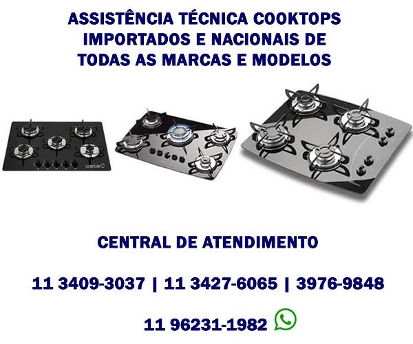 Assistência Técnica Cooktops