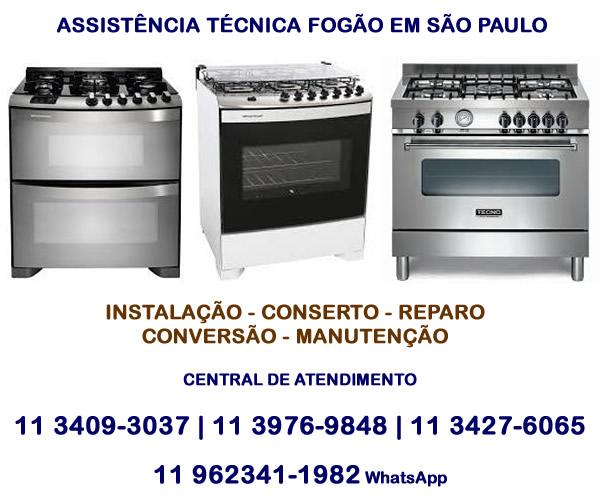 Assistência técnica fogão em São Paulo
