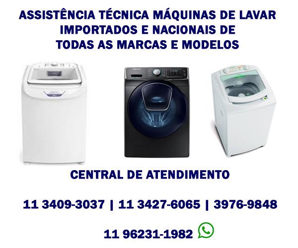 Assistência Técnica Lavadoras