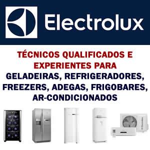 Assistência técnica geladeira refrigerador freezer frigobar adega ar-condicionado Electrolux
